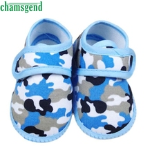 CHAMSGEND baby shoes cute lovely Newborn Camouflage Girl Boy Soft Sole Crib Toddler Shoes Canvas Sneaker Jan7 S30