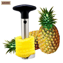 Pineapple Peeler Slicer, Fruit Ananas Corer Slicers Avocado Peeling Knife Easy Cutter Stainless Steel Kitchen Tools Paring Knife