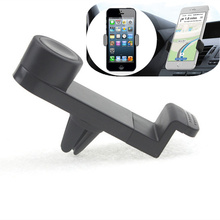 360 Degree Universal car air vent mount mobile phone car holder stands for galaxy s6 iphone 7 huawei xiaomi meizu LG sony holder