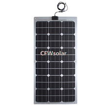 rechargeable batteries, solar batteries 60W. solar panel 18Vmp with aluminum plate, solar panel with cable and MC4 connector