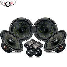 A Full Set of 6.5inch Car Hifi Speakers Woofer Speakers For Front Door And Coaxial Speakers For Back Door(China)