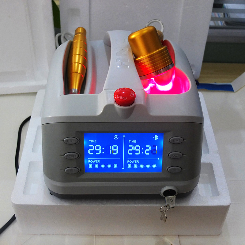 Low Power Laser Therapy To Repaired Soft Tissue, Wounds and Sport Injuries health care(China)