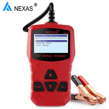 12 V Car Battery Check Tester Analyzer Nexas NB300 12V Car Digital Battery Test Analyzer Car Battery Monitor 220AH Cranking(Hong Kong)