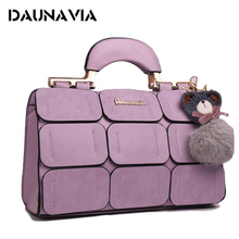 SHYAA The New Spring And Summer 2017 Women Bag Ladies Handbags Tide Grids Car Suture Boston Women Messenger BAGS(China)