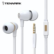 TENNMAK Porcelain 3.5mm  Earphones High Quality Metal  Earbud * 3 colors