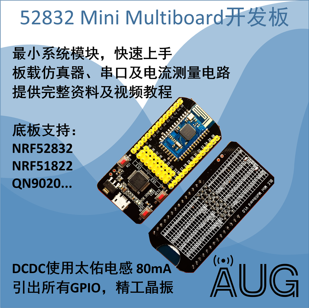 Load Simulator Serial Multifunction 518229020 NRF52832 Development Board NFC Board Support<br>