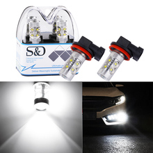 2x H7 H11 Car Light Cree Led Chip S25 P21W Bulb 1156 BA15S H4 H16 3156 3157 9005 HB3 9006 HB4 H1 R5W Lamp car light source White