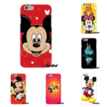 Cute Mickey Mouse Smile Retro Poster Soft Silicone Cases For iPhone 4 4S 5 5S 5C SE 6 6S 7 Plus Galaxy Grand Core Prime Alpha(China)