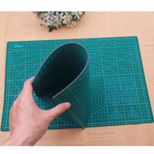 A3 A4 A5 Pvc Rectangle Grid Lines Self Healing Cutting Mat Tool Fabric Leather Paper Craft DIY tools Cutting plate(China)