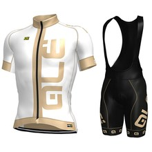 New Design ! 100% Polyester Ale Cycling Jerseys Ropa Ciclismo Comfortable Bicycle Clothing Bike clothes bib Shorts