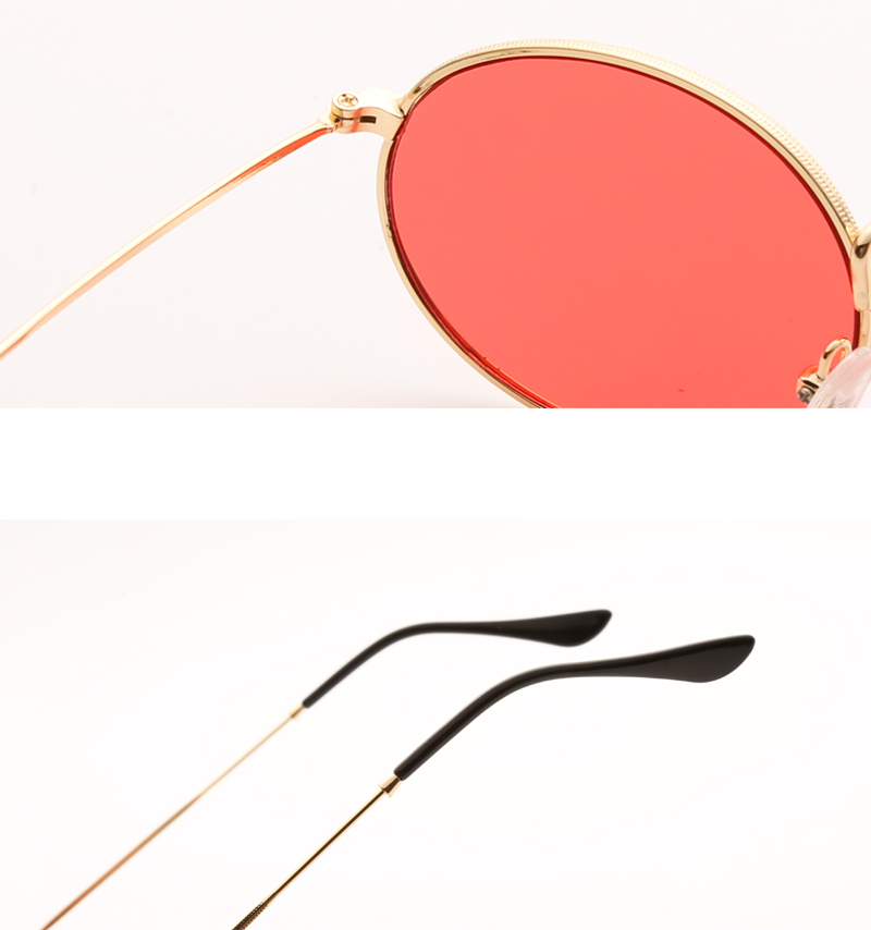 small oval sunglasses women red 0305 details (10)