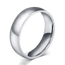 ORSA JEWELS High Quality Stainless Steel Rings for Men&Women Simple Design Fashion Silver Color Ring Wholesale Price OTR36