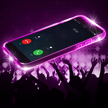 LED Flash Remind Incoming Call Shockproof TPU Case Cover for iPhone 6/6 Plus/7/7 Plus