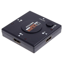 3 Ports Mini HDMI Switcher Premium Version 1080P HDMI Switch Switcher Splitter For HDTV PS3 for Xbox 360 DVD