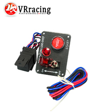 VR RACING - Racing Car Electronics One Switch Kit Panel Engine Start Button toggle with accessory VR-QT312