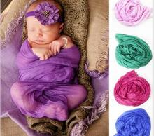 13Color European American Style Soft Cotton Baby Blanket Photography Props Shooting Elegant Newborn Blanket 1pcs(China)