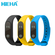Hieha M2 Fitness Tracker Smart Touch Screen Watch Heart Rate Wristband Band Message Call Reminder for Xiaomi Android iOS OLED