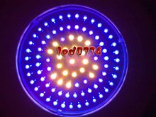 LED grow light Free shipping New 90W LED UFO Red460NM&630NM 7:2 Plant Hydroponic Lamp Grow Lights(China)