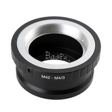 M42-M4/3 Camera Lens Adapter for M42 Lens to Micro M4/3 Panasonic Olympus EP1 EP2 EP3 EM5 GF1 GH2 G3 GH3 GX1(China)