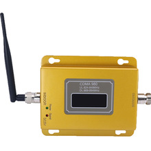 GSM repeater 850MHz CDMA mobile signal signal booster cell phone wireless amplifier with indoor antenna