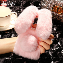 Buy AKABEILA Case Soft Silicone Elephone S3 Cases Rabbit Fur Fluffy Elephone S3 Cover Anti-knock Covers 5.2 Inch for $5.80 in AliExpress store