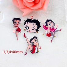 10pcs/lot DIY planar resin fashion women kawaii flat back resin cabochons accessories(China)
