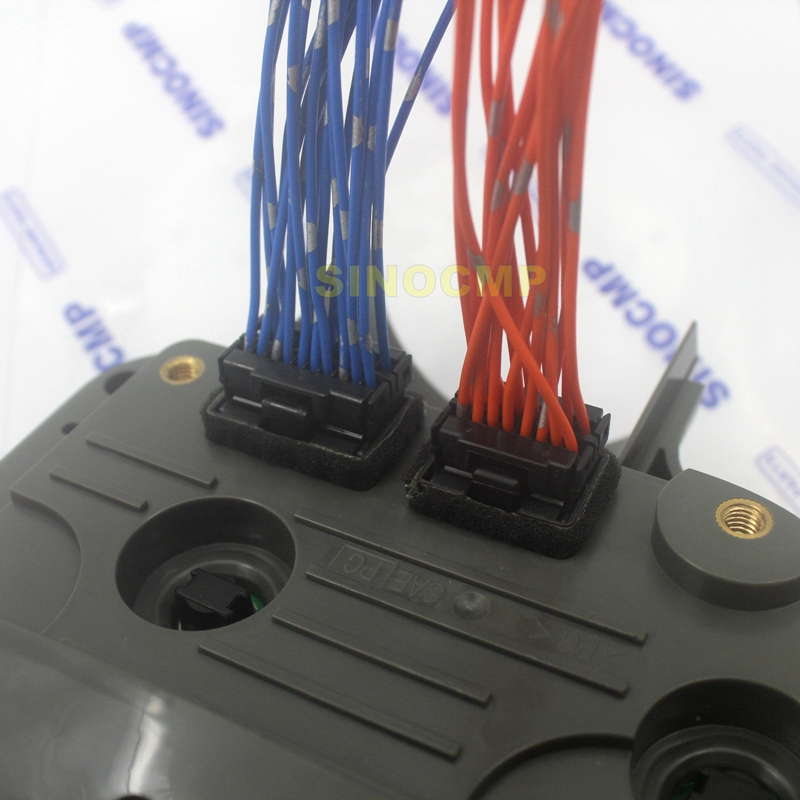 6D102 Excavator Monitor Plug Connector Monitor PC-6 (7)