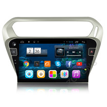 10.2 inch Android 6.0 Quad core Car DVD Player for Peugeot 301 for Citroen Elysee 2014+ GPS navigation Radio BT wifi canbus map
