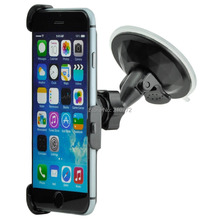 Mobile Phone Car holder for iphone 5 5s se 6 6s 4.7 6Plus 5.5 7 7Plus GPS Windshield Windscreen suction Stand Cellphone mount