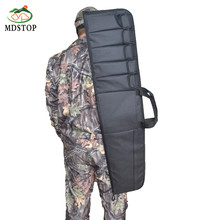 MDSTOP Outdoor Hunting Tactical Rifle Holster Case 6 Pockets Sports Gun Backpack Shotgun Bag Shoulder Carrying Holder