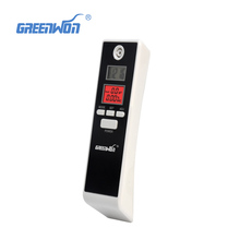 2017 NEW Hot selling Professional Police Digital Breath Alcohol Tester Breathalyzer 2PCS/LOT Free shipping Drop shipping(China)