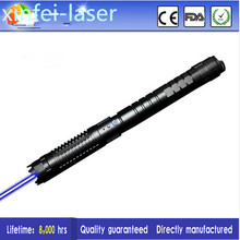 Burning Laser Ultra Powerful 450nm Blue Laser Pointer 1000mW 2000mW 4000mW For Cutting Adjustable Focus(China)