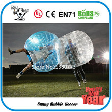 Free Shipping 1.5m TPU Good Quality 0.8mm Bubble football,Inflatable Bubble Ball Suit,Zorb Ball,Bubble Soccer,Body Zorb For Sale