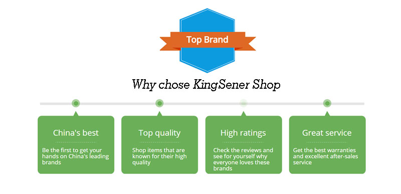 Why chose KingSener Shop_800