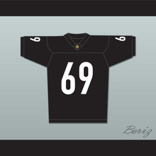 Andrew Bryniarski Patrick 'Madman' Kelly 69 Miami Sharks Football Jersey Any Given Sunday Includes AFFA Patch(China)