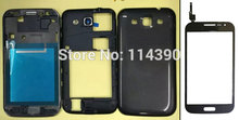 WHITE & BLACK For Samsung Galaxy win i8552 ORIGINAL housing cover + touch Screen Digitizer Glass panel