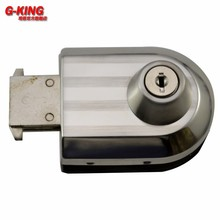 Not perforated glass door frameless glass sliding door lock expansion plug rod lock glass door lock 888D(China)
