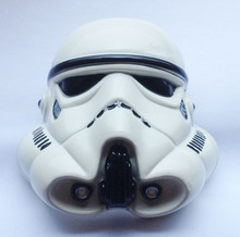 3D Starwars Stormtrooper Helmet White Color Belt Buckle JF-BY47 suitable for 4cm wideth belt with continous stock