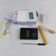 tm-902c temperature meter tm902c digital Thermometer + Thermocouple Probe + Thermocouple Needle Probe 0-1300 degree meter