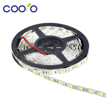 LED Strip 5050  fiexible light 60Led/m,5m 300Led,DC 12V,White,Warm White,Red,Green,Blue,Yellow,Waterproof,Free shipping