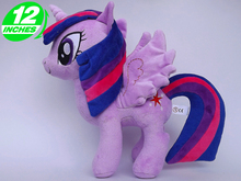 Unicorn Pets  Horse Plush Toys Twilight Sparkle Rainbow Dash Apple Jack Rarity Fluttershy Pinkie Pie Christmas Little Gift