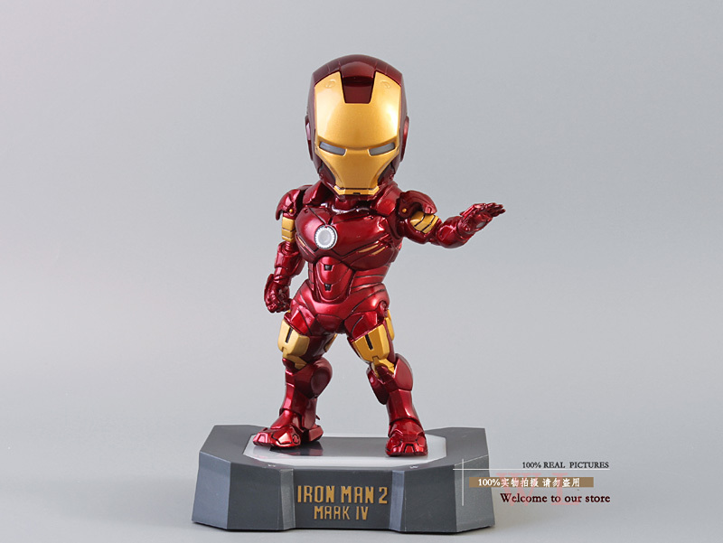 Free shipping Marvel EGG ATTACK Iron Man 2 MK4 Action Figure Toy Classic Toys HRFG182<br><br>Aliexpress