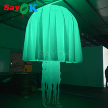 inflatable jellyfish,inflatable decorating jellyfish balloon wedding decoration supplies in guangzhou(China)