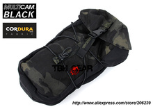 TMC 11x6x4 GP Pouch Smart Utility AVS MOLLE Multicam Black Pouch MOLLE Cordura Bag+Free shipping(SKU12050673)(China)
