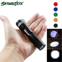 CREE XPE-R3 LED 250LM Lamp Clip Mini Penlight Flashlight Torch AA Outdoor Sports Bike Cycling Accessories High Quality Mar 15