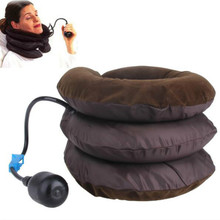 Health Air Cervical Soft Neck Brace Device Headache Back Shoulder Pain Cervical Traction Device Comfortable Massage Relaxation