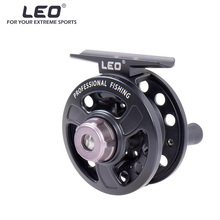 leo 3BB Ball Bearing Fish Reel Left/Right Interchangeable Fishing Reels Full Metal Fly Fish Reel Former Rafting Ice Fishing Reel(China)