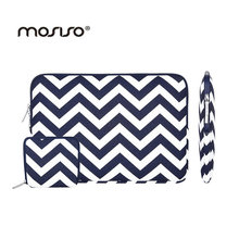 MOSISO Chevron Designer 11.6 13.3 15.6inch Sleeve Cover Laptop Case Bag For Macbook Air/Pro/Asus/HP Notebook Computer Bag Female