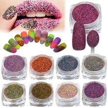 1g Shining Nail Glitter Powder Dust 3d Sugar Pigment Sequins Polish Gel Nail Art Decoration DIY Manicure Tools BE533-542