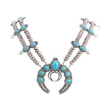 Manufacturers selling new European style fashion Necklace Antique Silver Plated Necklace long do not fade fine jewelry(China)